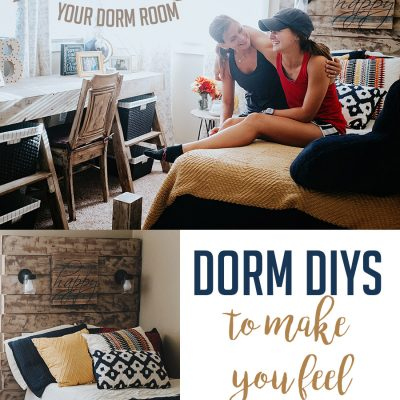 DIY Dorm Room Decorating Ideas {and my college confessions…}