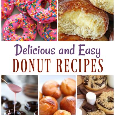 Delicious & Easy Donut Recipes