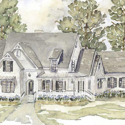 Altadena Park House Plan rendering