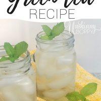 copycat panera green tea recipe