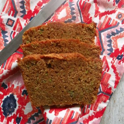 Cinnamon Zucchini Bread Recipe