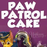 HOW TO DIY PAW PATROL CAKE