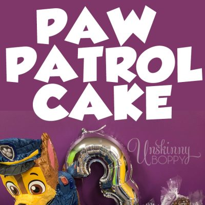 HOW TO DIY PAW PATROL CAKE