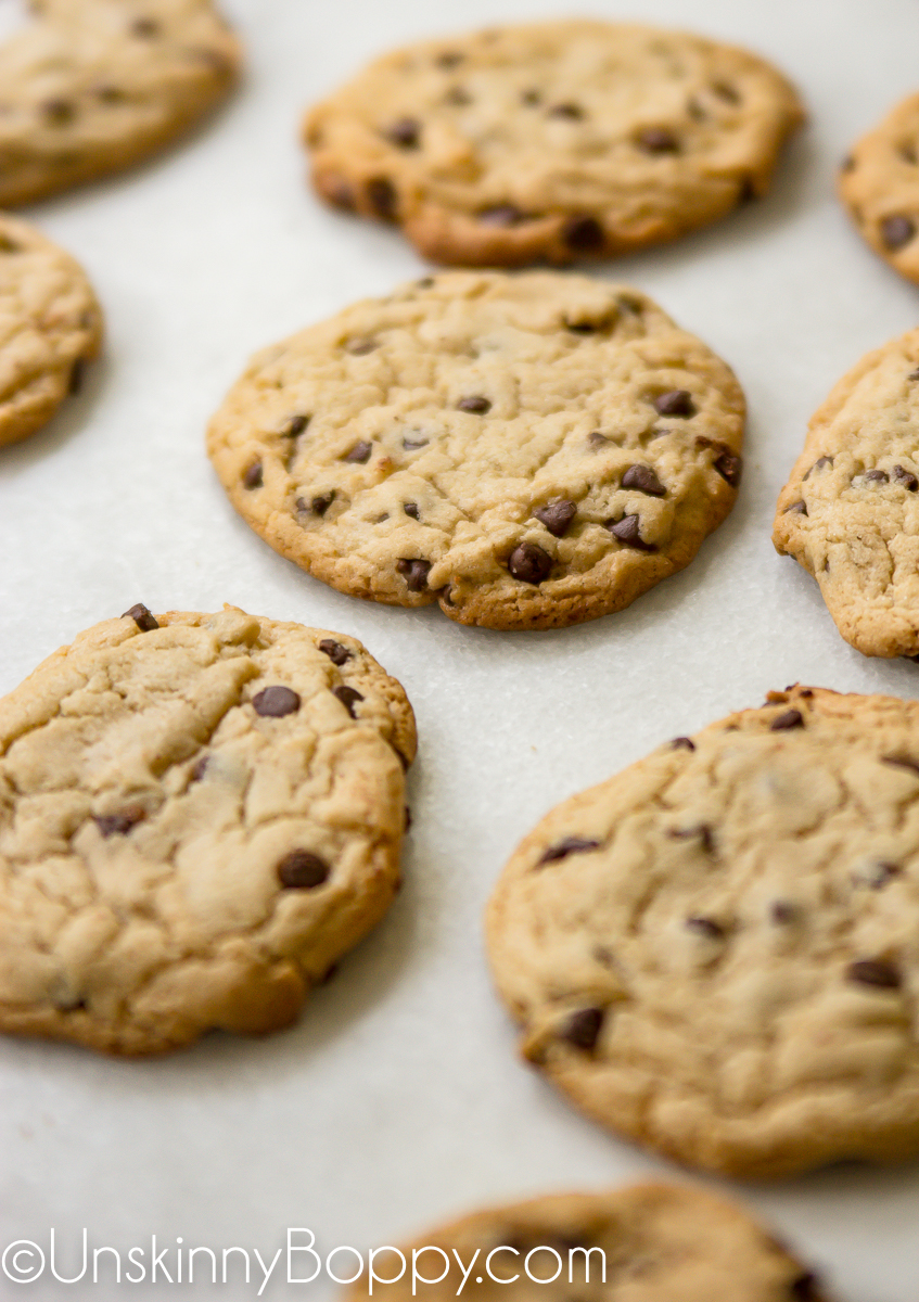 Cake Mix Chocolate Chip Cookie Recipe {just 5 ingredients