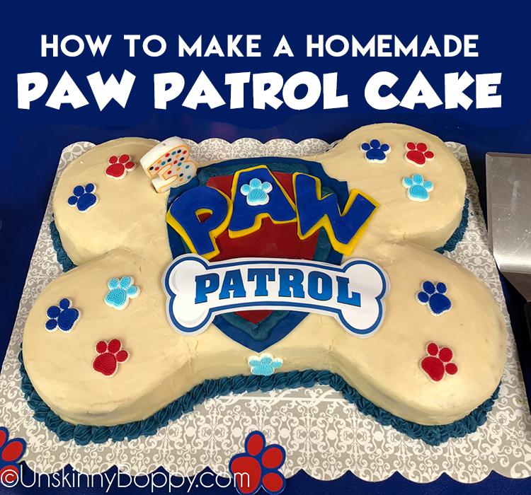 Paw-Patrol-birthday CAKE