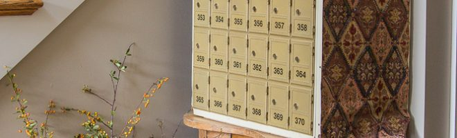 Easy Makeover Idea: Vintage Post Office Boxes