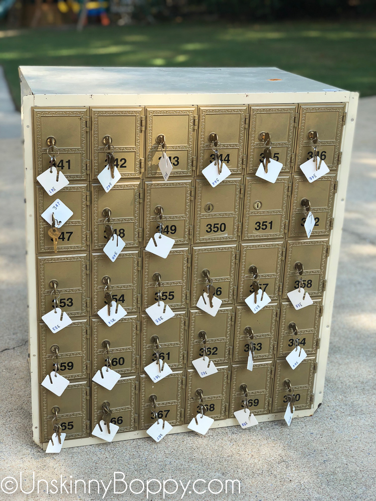Easy Makeover Idea Vintage Post Office Boxes Unskinny Boppy