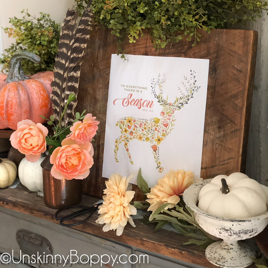 To everything there is a season fall printable-10