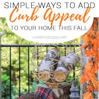 Simple Ways to Add Curb Appeal to Your Home this Fall
