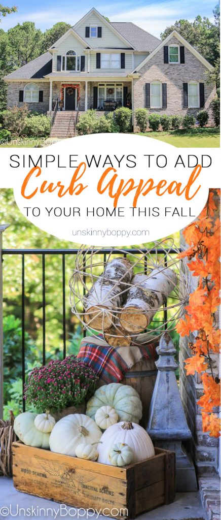 simple ways to add fall curb appeal