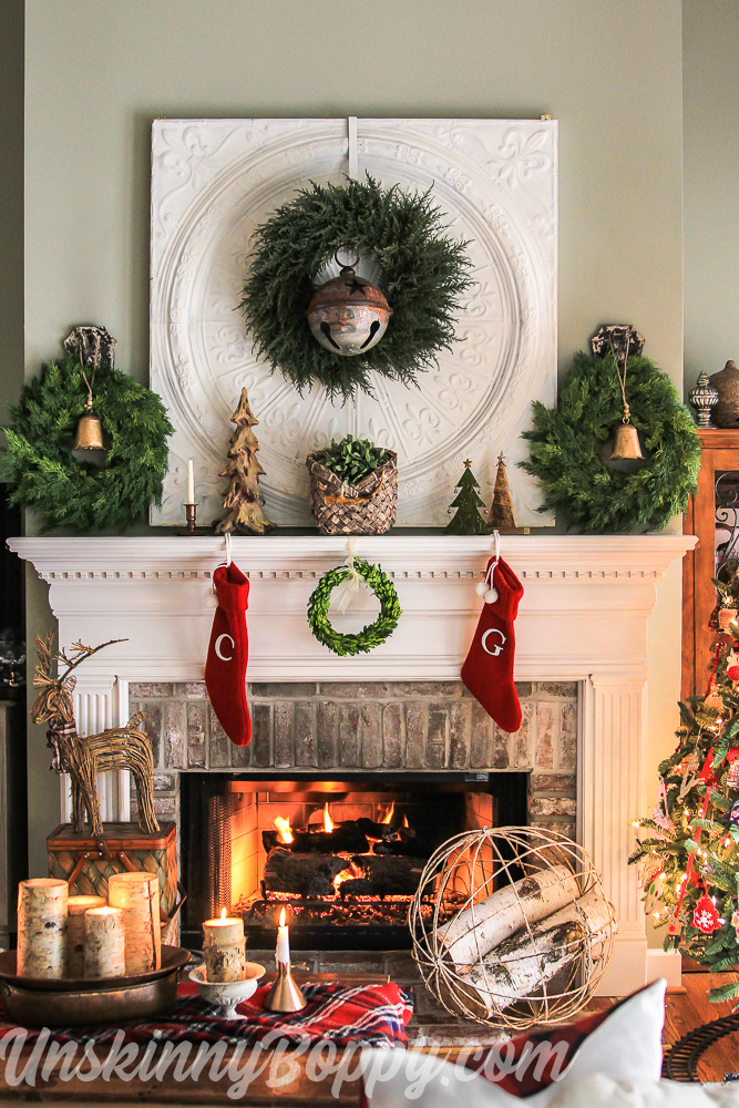 Christmas Decorating Ideas for the Mantel