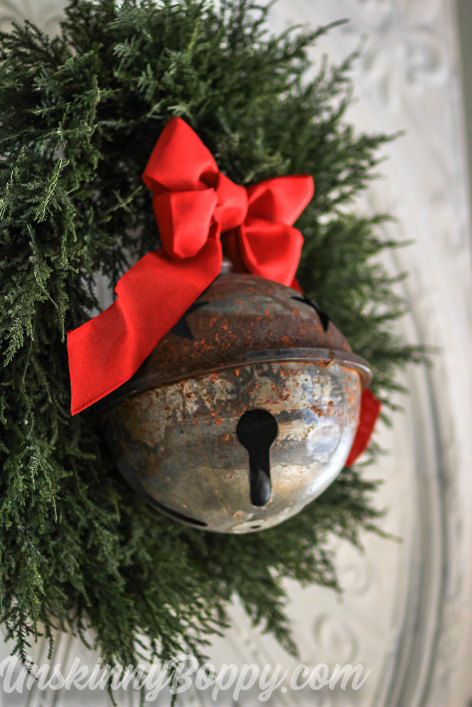 HUGE Jingle Bell with bow