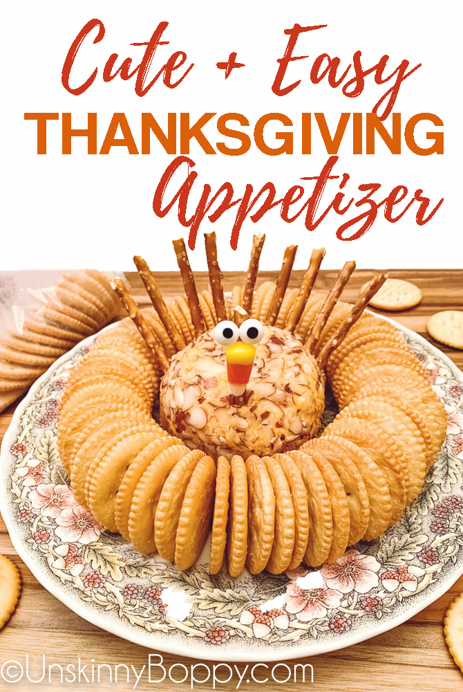 cute + easy Thanksgiving Appetizer