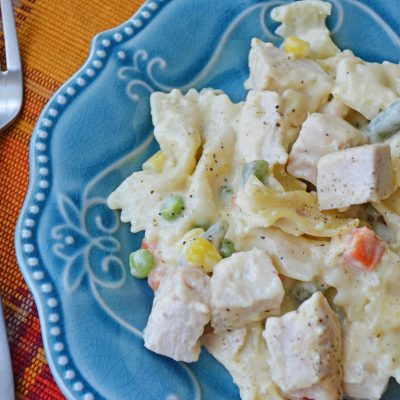 Leftover Turkey Noodle Casserole – Simple Dinner For The Family