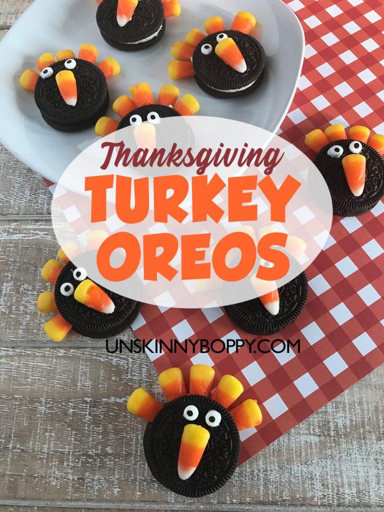 THANKSGIVING TURKEY OREOS