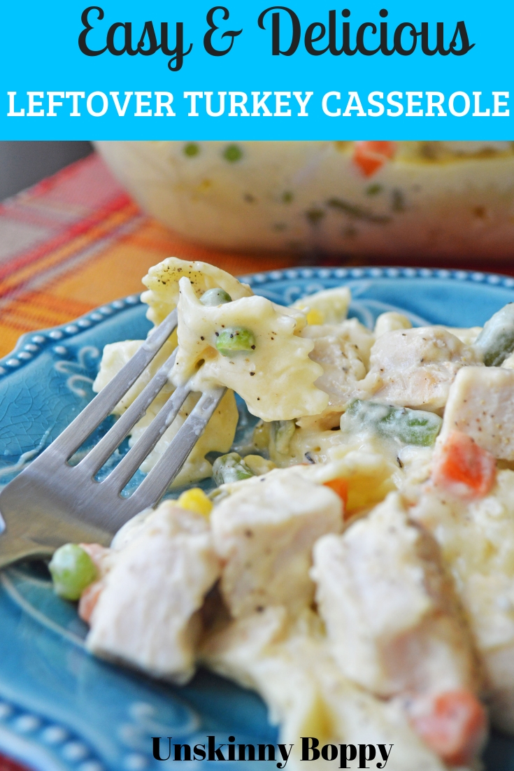 The day after Thanksgiving gives the option for leftovers for days, so why not plan ahead and make this Leftover Turkey Noodle Casserole?