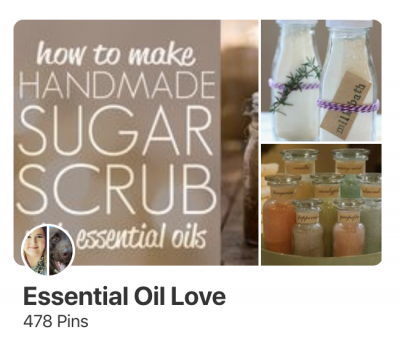 Essential Oil Pinterest Boards