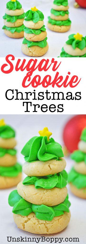 sugar cookie christmas tree recipe