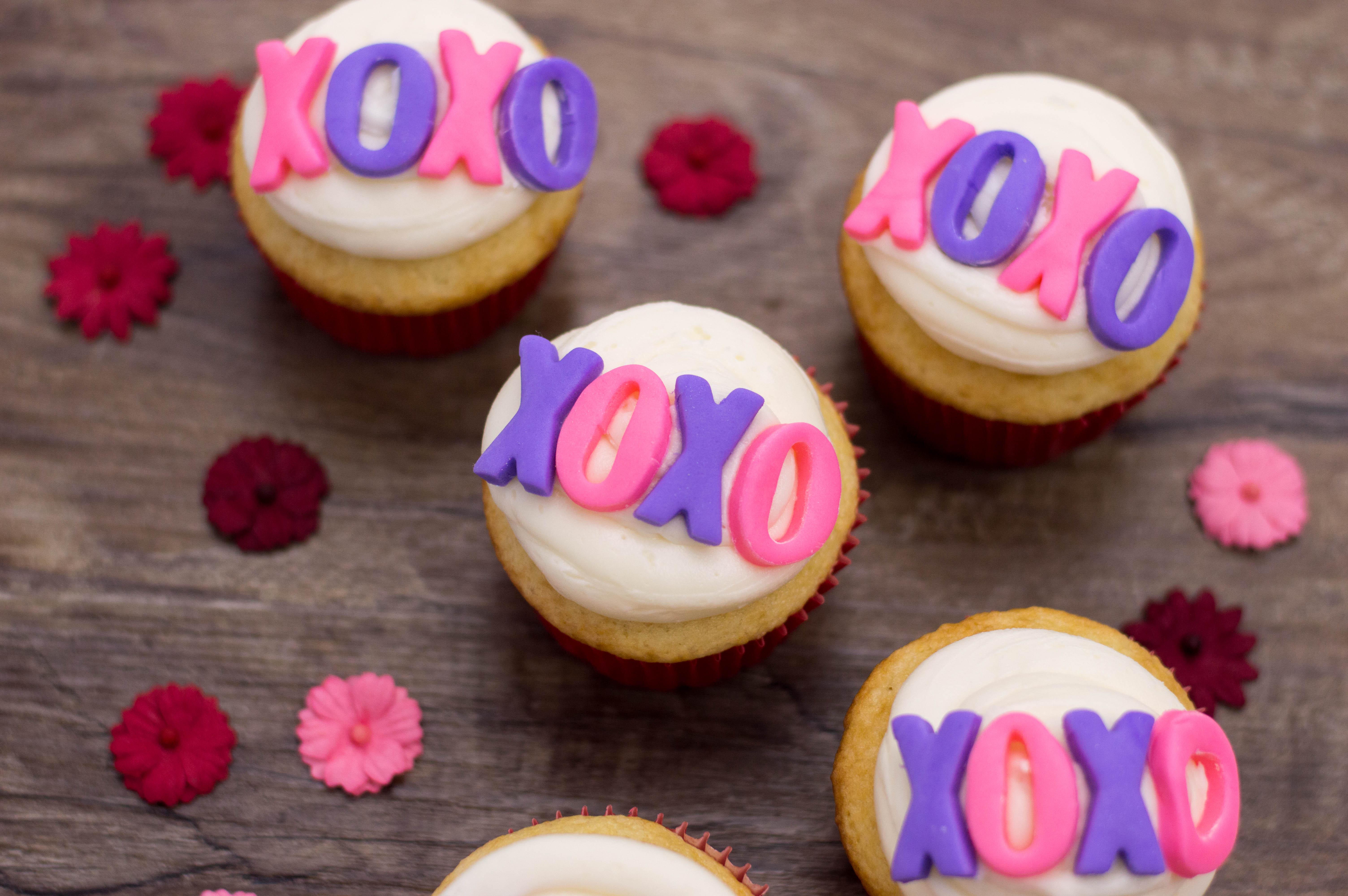 Xoxo Cupcakes For Valentines Day Unskinny Boppy