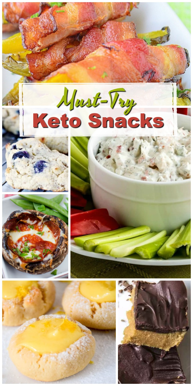 These Must-Try Keto Snacks are simple, delicious and Keto-Friendly! If you're looking for some simple Keto recipes, you've arrived at the right place!