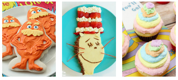 Dr. Suess Inspired Recipes!