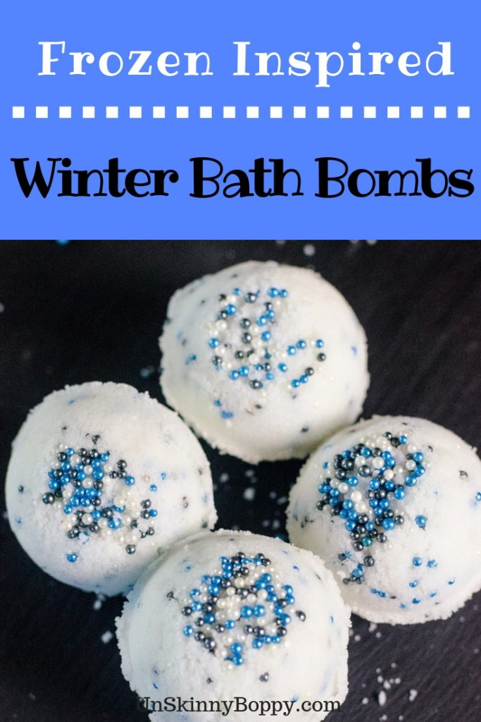 Calling all Frozen fans! These Winter Bath Bombs are certain to be a hit in your home this cold weather season!