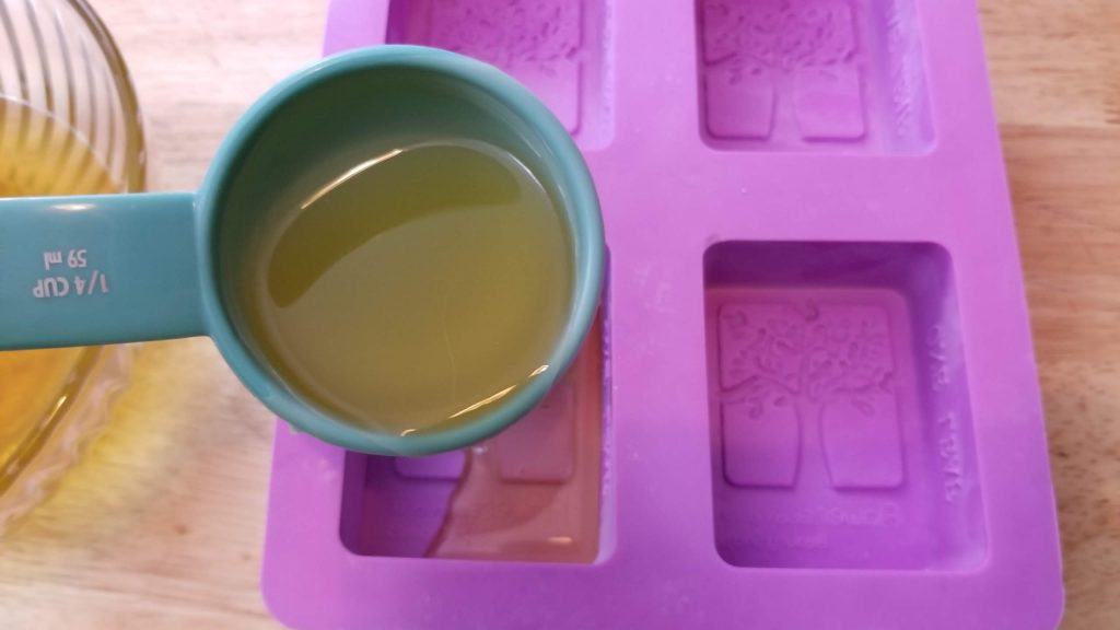 mold for homemade lotion bars