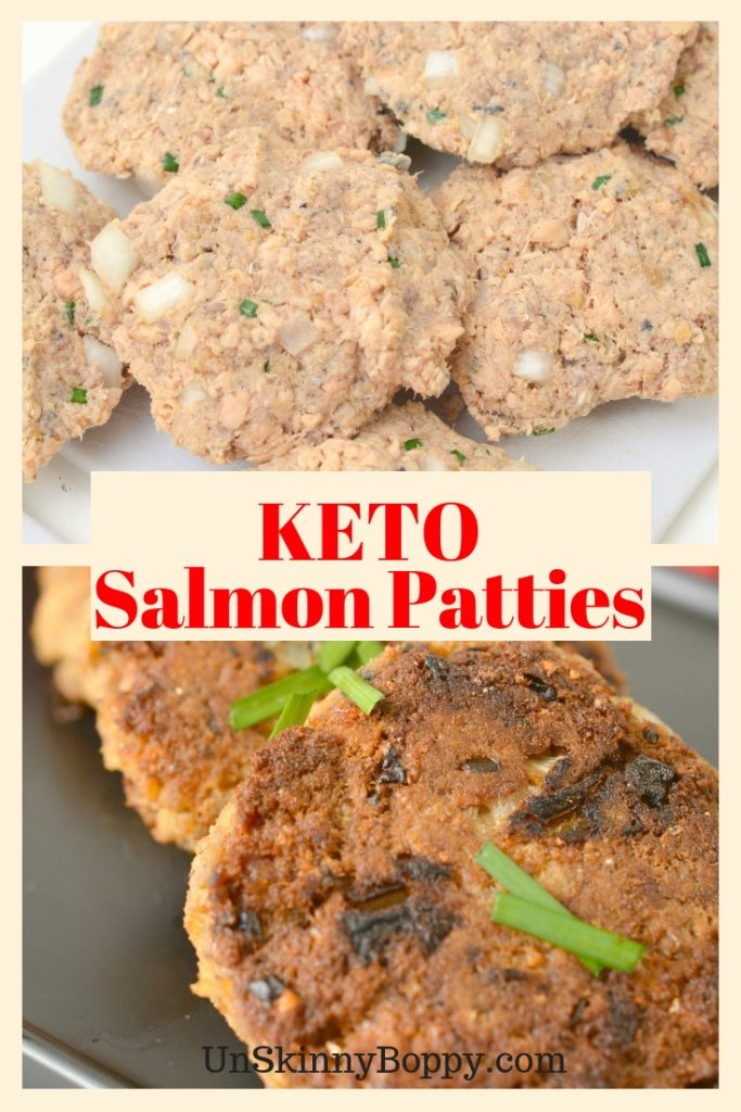 These Keto salmon patties are simple and easy to make. This recipe will help you stay on the keto lifestyle healthy living path!