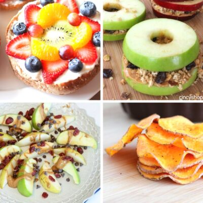 21 After School Snack Ideas