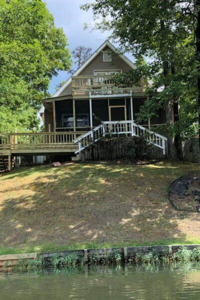 Gingerbread Point Lake Mitchell Alabama