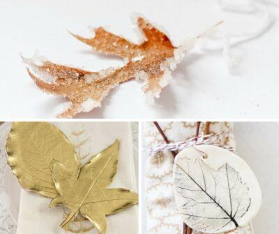 15 Autumn Leave Crafts
