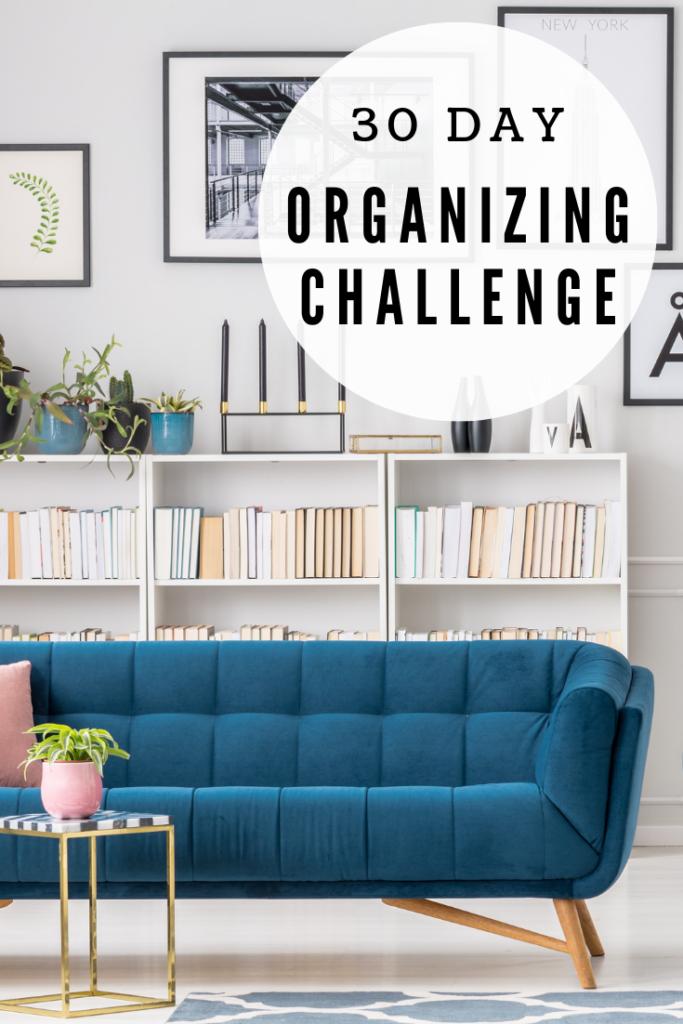 30 day organizing challenge facebook