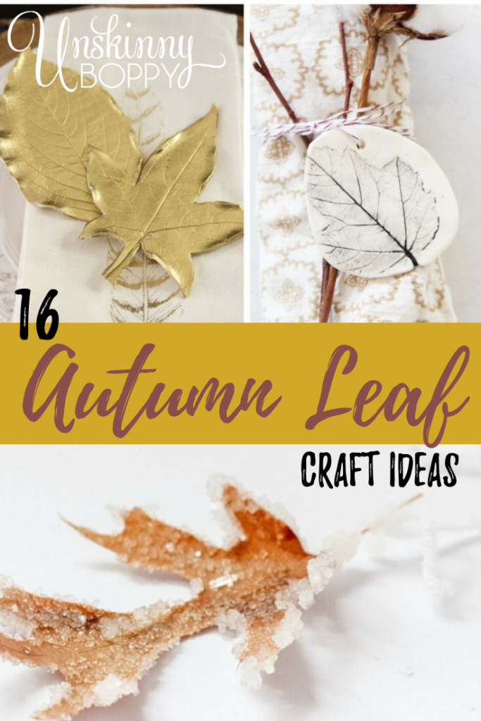 These autumn leaves craft options are so simple and easy to make. If you're looking for fall crafts, you're going to love these.