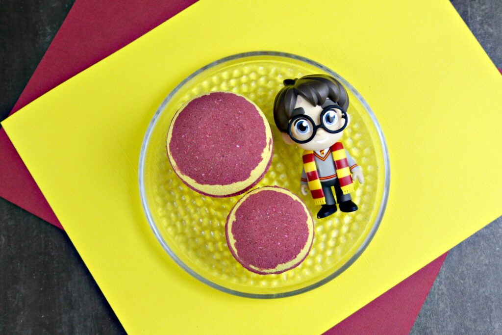 Harry Potter Gryffindor Bath Bombs