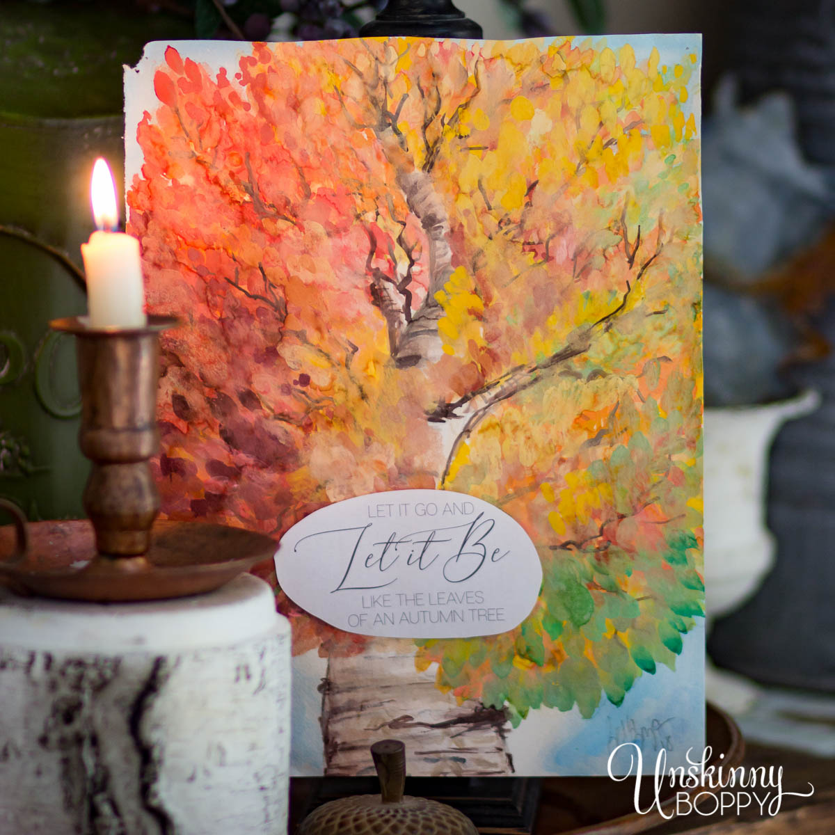 Let it Be Like Leaves on a Tree {Free Fall Printables}
