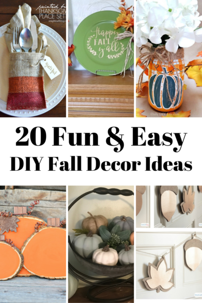 You're going to love these simple and easy DIY fall decor ideas!