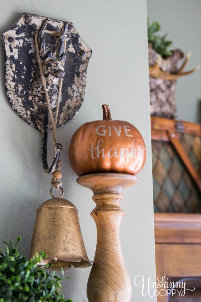 Fall Bronze Pumpkins