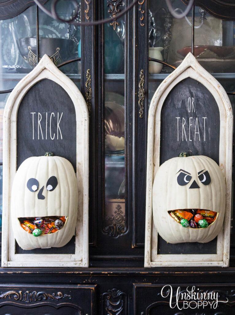 Jack O Lantern Door Hanger Candy DIspensers