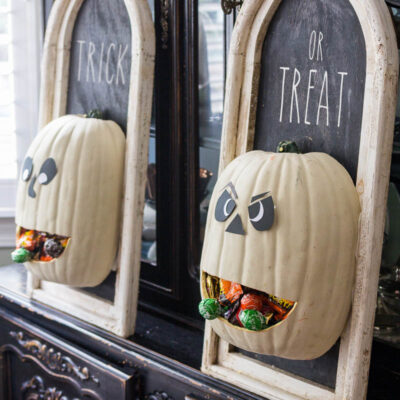 Jack-O-Lantern Candy Dispenser DIY