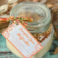 Keto Pumpkin Spice Muffin Mix in a Jar