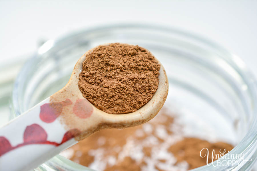 Keto Pumpkin Spice Muffin Mix in a Jar- add cinnamon and spice