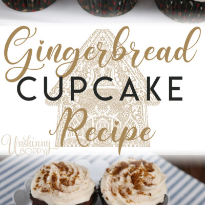 Amazing Gingerbread Cupcake recipe! Perfect for holiday baking.