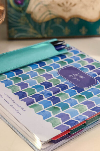 Plum Paper Planner for Bloggers