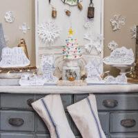 Free Frozen Arendelle Paper Doll Houses-2