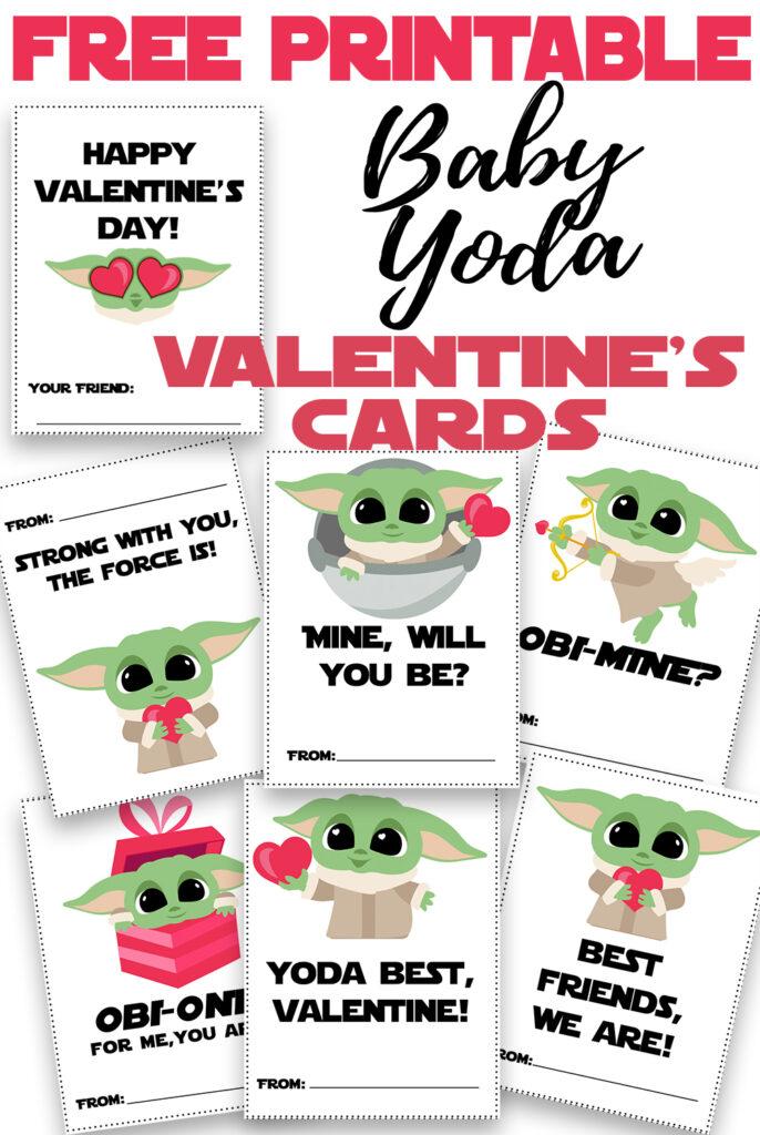 Baby Yoda Valentine's