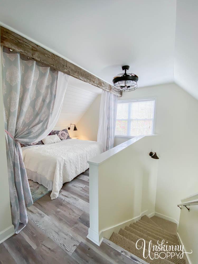 Dreamy Loft bedroom decor-10