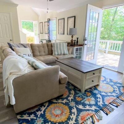 New living room rug