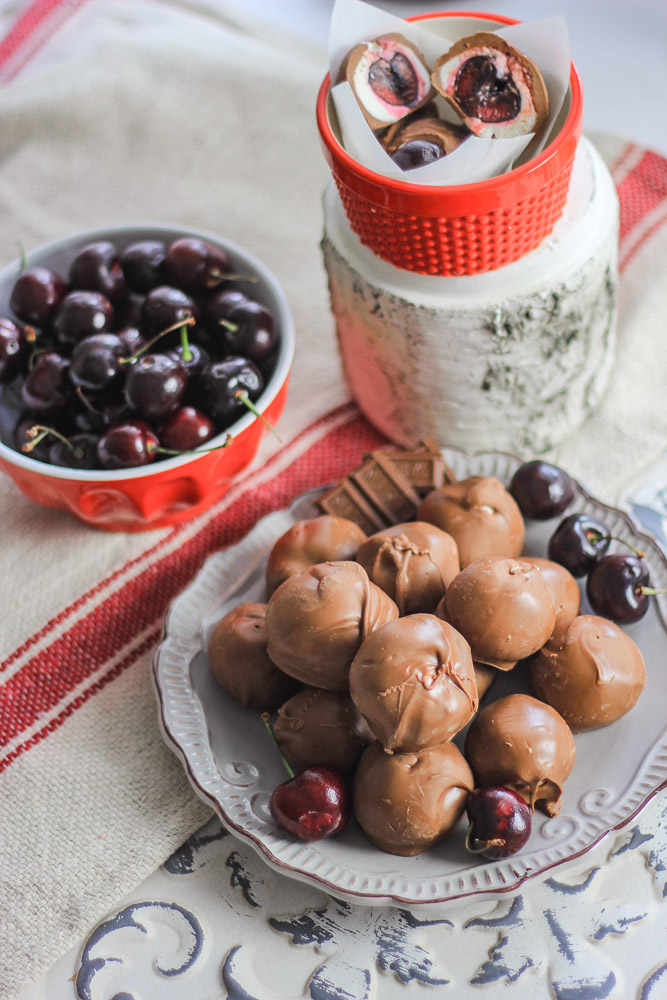 How to make chocolate covered cherries_