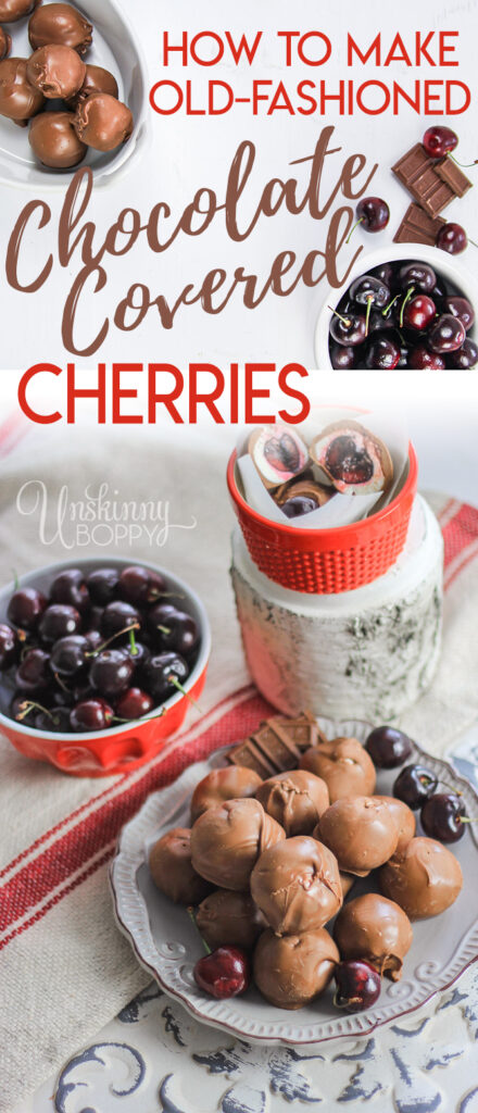 How to make homemade chocolate covered cherries
