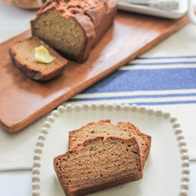 How to make homemade banana bread-20